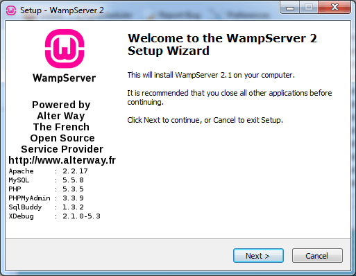 Downloading and using WAMP Server - Anatech