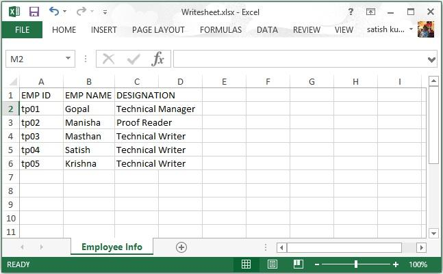 Import Data from Excel Sheet into MySQL Database - Anatech