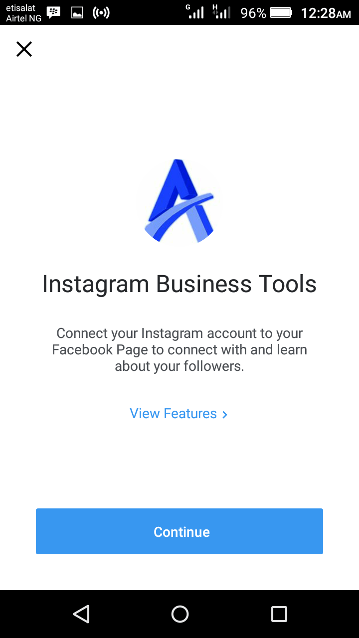 how to delete business profile on instagram